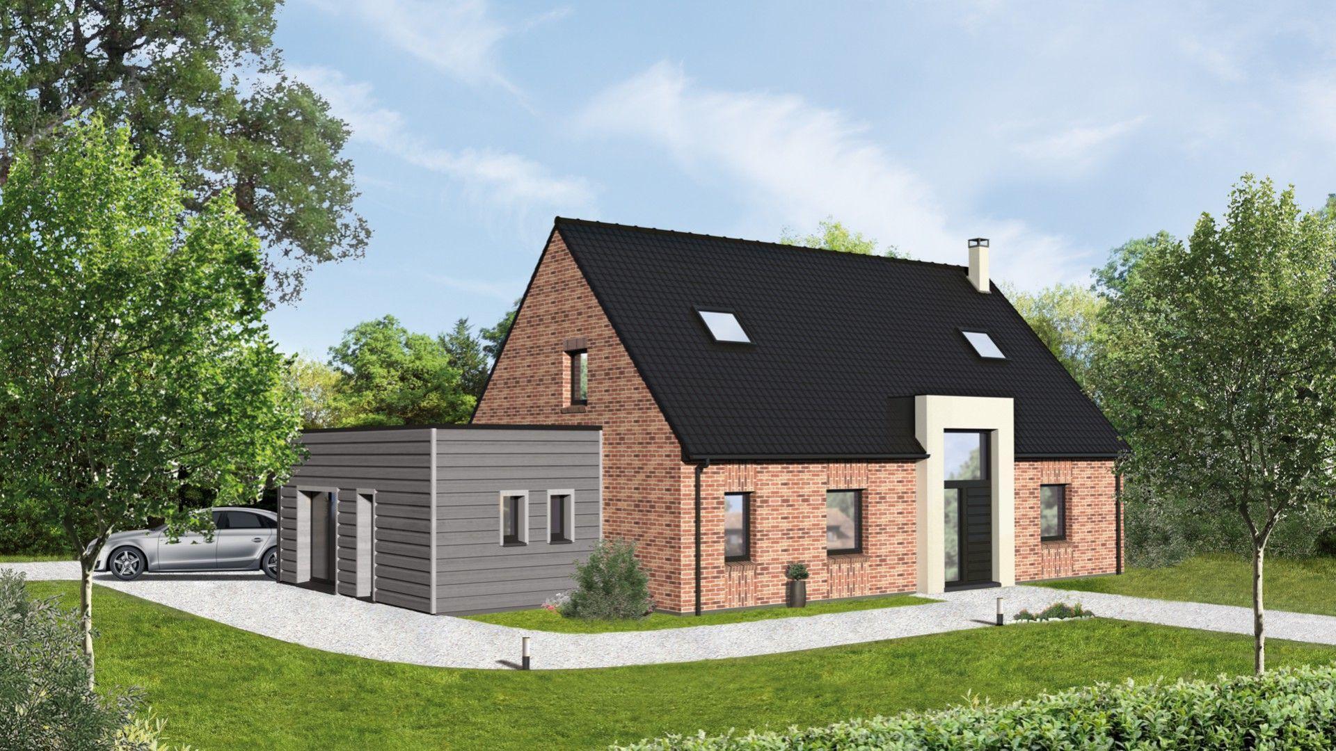 Constructeur maison nord maison moderne for Maison moderne constructeur